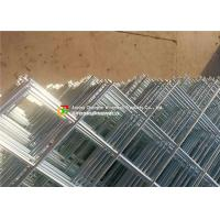 Buy cheap Diagonal Square Hole Welded Wire Mesh Electro Galvanized For Ornamental / Building product