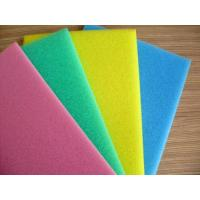 Buy cheap Pink / White Packaging Open Cell Foam Block Good Ventilation Fine Pored Dust Proof product