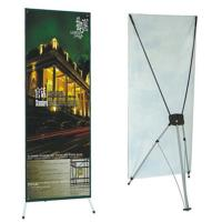 Buy cheap Advertising  graphic banner stand Trade Show Display X Banner Stand With PVC Banner product