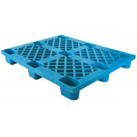 Buy cheap Double Face Vented Top Deck Heavy Duty Pallet , Colored PP Plastic Floor Pallet product