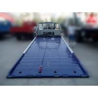 Buy cheap Low angle full land flatbed wrecker titl tray recovery tow truck product