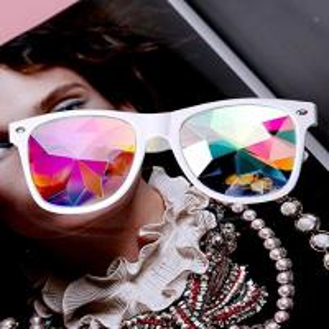 Buy cheap Plastic Hony Newest Product , Flower Lense Kaleidoscope Glasses For Dance Musice Fesvital from wholesalers