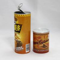 China Water Proof SGS Custom  Paper Composite Cans for Sweet Potato Crisp, Chips , Snack Food on sale