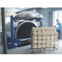 China Constant Speed Vacuum Steaming Textile Spinning Machinery For Nylon Yarn on sale