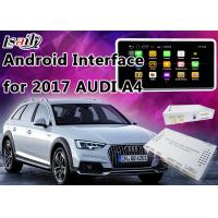 Buy cheap 2017 AUDI A4 Andorid Navigation Multimedia Video Interface with Built-in Mirrorlink , WIFI , Parking Guide Line product