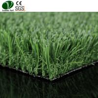 Buy cheap Outdoor Plastic Lawn Grass / 35mm Polyethylene Artificial Grass Anti Fire product