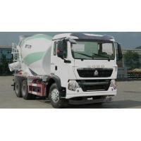 Buy cheap Sinotruk HOWO Small 5CBM Mixer Cement Truck With Bonfiglioli Speed Reducer product