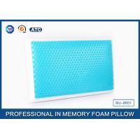 Buy cheap Standard size memory foam cooling gel pillow with different gel layer product