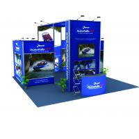 Buy cheap Tension Fabric Graphic Modular Trade Show Booth Portable Lightweight product