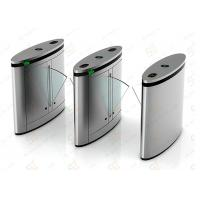 China OEM Access Control Automatic Turnstiles Flap Or Wing Barrier For Metro on sale
