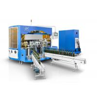Buy cheap Wine Glass Bottle  Automatic Multi Color Screen Printing Machine With LED UV Curing Device product
