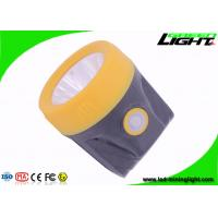 Buy cheap Outdoor USB Recharge Cordless LED Mining Light Miner Headlamp with Clip from wholesalers