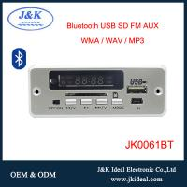 New kind bluetooth usb sd fm aux mp3 module