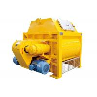 Buy cheap Continuous Electric Forced Beton Twin Shaft Cement Concrete Mixer 1000 Litre Type product