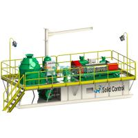 Buy cheap Skid Mounted Mud Tanks Drilling Waste Management System , High Speed Centrifuge Mud System product