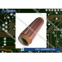 Buy cheap Double Shiny Rolling Red Copper Foil For FPC , Roll Size , Maximum Width 650 product