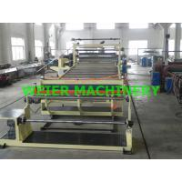 China 2000mm Width Plastic Sheet Extrusion Line , PVC Sheet Extrusion Line on sale