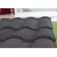 Buy cheap Colored Glazed Galvalume Material Stone Coated Metal Roofing Tiles product