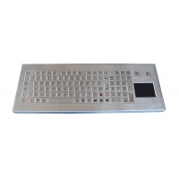 Buy cheap Industrial waterproof stainless steel keyboard with touchpad from wholesalers