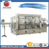 Buy cheap Trade Assurance Auto Water Filling Machine Gas Soft Drink Processing Line product