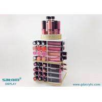 Buy cheap Black / White / Pink Color Acrylic Lipstick Display Facory Direct Sell from wholesalers
