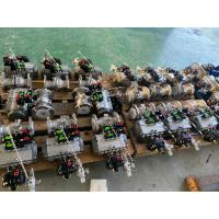 China pneumatic actuated ball valves auto control actuators pneumatic on sale