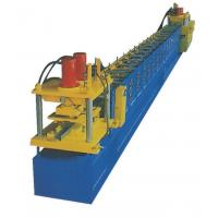 Buy cheap Steel CZ Shaped Purlin Roll Forming Machine with 16 Main Rollers Forming Stations product