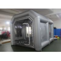 Buy cheap Eco - Friendly Small Mobile Inflatable Spray Booth Easy To Install CE UL EN14960 product