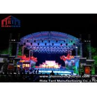 Buy cheap High Loading Silver Aluminum Lighting Truss , Stage Truss System With Tuv  Certification from wholesalers