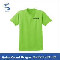 Cheap Full Color Men's Short Sleeve Dress Shirts For Worker / Security Department wholesale