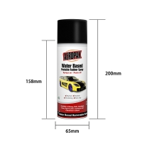 Buy cheap 65mm 400ml Water Based Peelable Aerosol Rubber Paint product