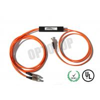Buy cheap FBT Single Mode Fiber Coupler  2 In 1 Out For Access Network / CATV product