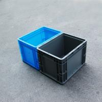 Buy cheap Grey Range Heavy duty  Attached lid Euro container with reinforced base 25liter (400*300*280) from wholesalers