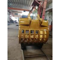 Buy cheap Skeleton Excavator Bucket , Custom Excavator Buckets For For Sifting Out Rocks from wholesalers