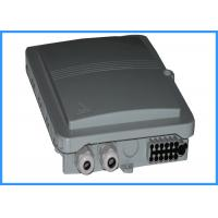 China Light Weight Fiber Optic Cable Junction Box / Ftth Distribution Terminal Box on sale