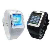 Buy cheap Smart Quad-band GSM Multimedia Cell Phone Watch with Samsung TFT Touch Scree product