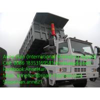 Buy cheap 6 x 4 Heavy Duty Dump Truck Sinotruck Howo 371hp 70ton Special Design of Mining Tipper Truck from wholesalers