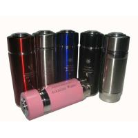 Buy cheap 5L Silver / Blue Alkaline Nano Energy Flask With Replaceable Filter , 20cm Height product