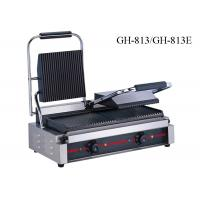 Buy cheap Stainless Steel Contact Griller Single / Double Heads Sandwich Grill Machine product
