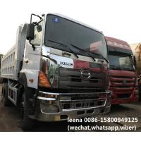Buy cheap Japan 6X4 Type Used Dump Trucks Hino 700 Series Tipper Truck 25-30 Ton Capacity product