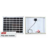 China 40w SunPower Mono And Polycrystalline Solar Cells Panel With High Performance on sale
