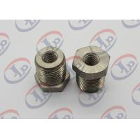 Buy cheap High Precision CNC Turned Parts 304 Stainless Steel Both Threaded Hex Nuts from wholesalers