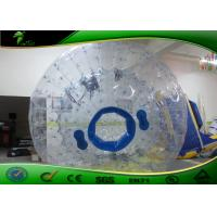 Buy cheap Large Inflatable Human Ball , Inflatable Water Zorbing Ball PVC 0.8mm 3m product
