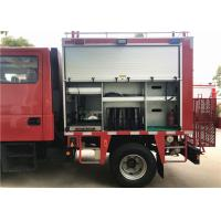 Buy cheap Chassis HALE pump Foam Fire Truck With 115L Plastic Fuel Tank from wholesalers