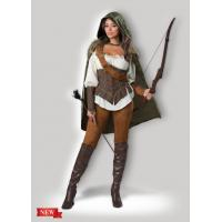 Buy cheap Female Halloween Costumes / Halloween Adult Costumes Enchanted Forest Huntress 1139 product