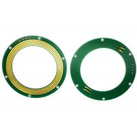 Buy cheap FR-4 PCB Disc Slip Ring Through Bore Power Signal Combinations For Excavator Uses product