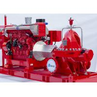 Buy cheap NM Fire Two stage fire pump Horizontal Split Case UL / FM Certified Diesel Engine Driven product
