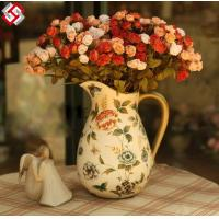 Buy cheap high quality artificial silk rose flower for festival gifts home decor product