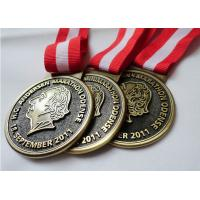 Buy cheap Customized Antique Brass / Copper / Zinc Alloy Plating HC Andersen Marathon medal with Die Casting product