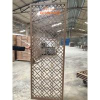 Buy cheap High End Customized Hotel Room Divider , Wooden Room Screen Asia Style product